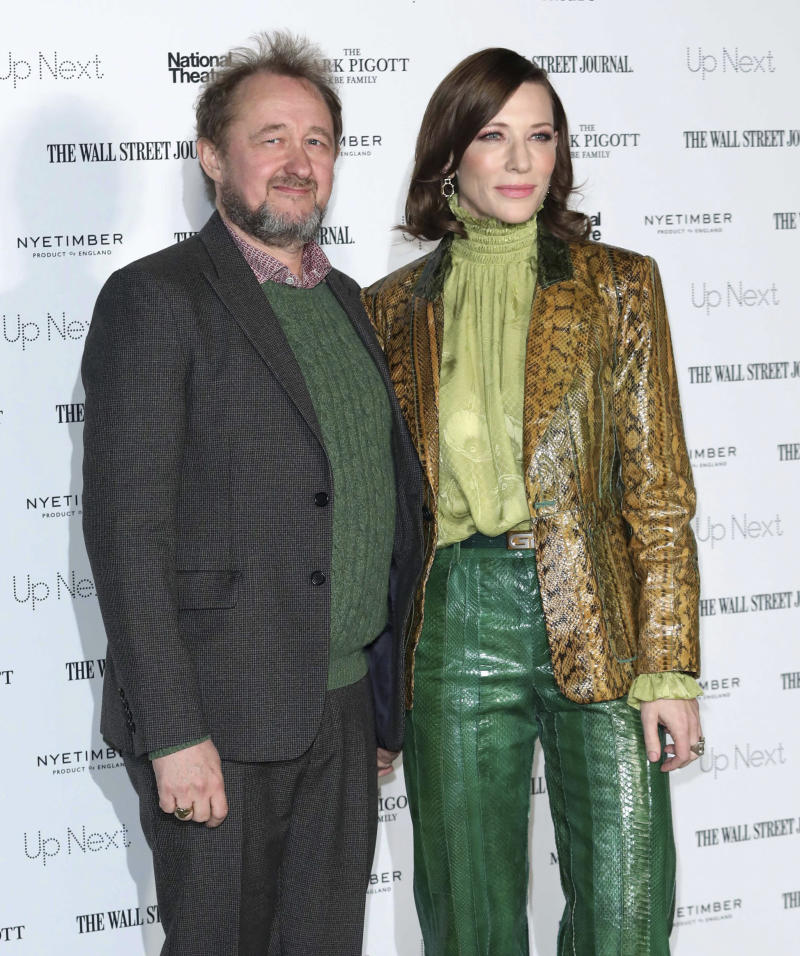 Cate Blanchett and her husband Andrew Upton at the Up Next Gala at The National Theatre. (zz/KGC-161/STAR MAX/IPx)