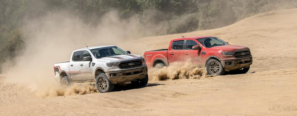New 2021 Ford Ranger Tremor Off-Road Package creates the most off-road-ready factory-built Ranger ever offered in the U.S., adding a new level of all-terrain capability without sacrificing the everyday drivability, payload and towing capacity Ranger owners expect.