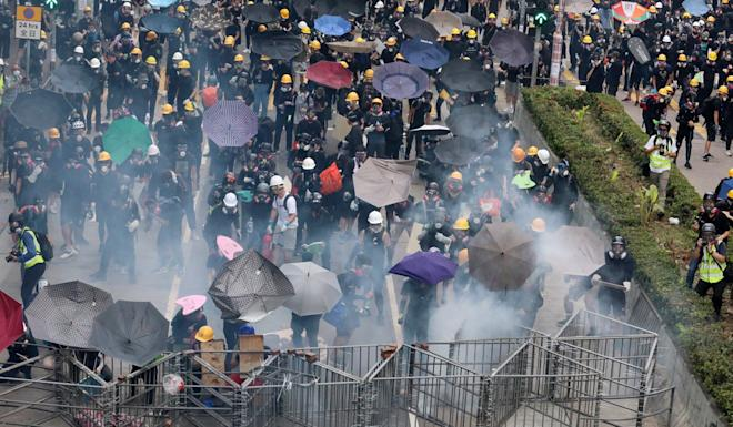 Hong Kong has seen two months of social unrest sparked by the now-shelved extradition bill. Photo: Felix Wong