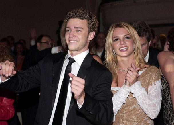 PHOTO: Justin Timberlake and Britney Spears the Grammy Awards, Feb. 26, 2002, in Beverly Hills, Calif. (WireImage/Getty Images, FILE)