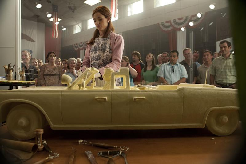 """This image released by RADIUS-TWC shows Jennifer Garner in a scene from the film, """"Butter."""" (AP Photo/RADIUS-TWC)"""