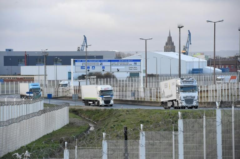 The first trucks to cross over under the new procedures and arriving by ferry are expected in Calais on Friday, hours after the first arrivals overnight via the Channel Tunnel