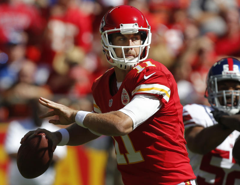Chiefs QB Alex Smith making Dorsey gamble pay off