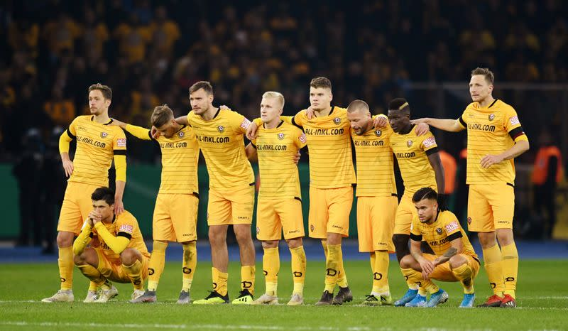 DFB Cup - Second Round - Hertha BSC v Dynamo Dresden