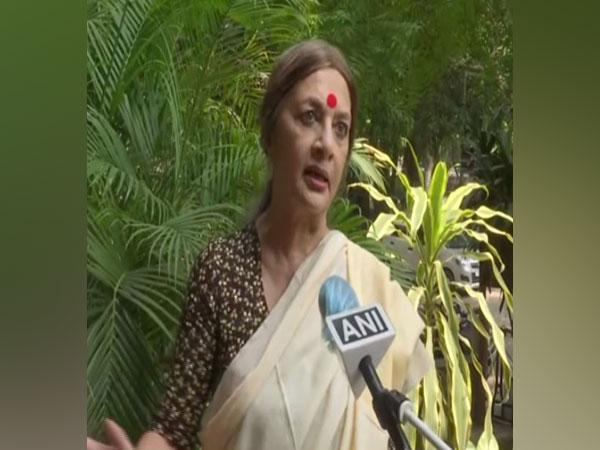CPI(M) politburo member Brinda Karat speaking to ANI in New Delhi on Thursday. (Photo/ANI)