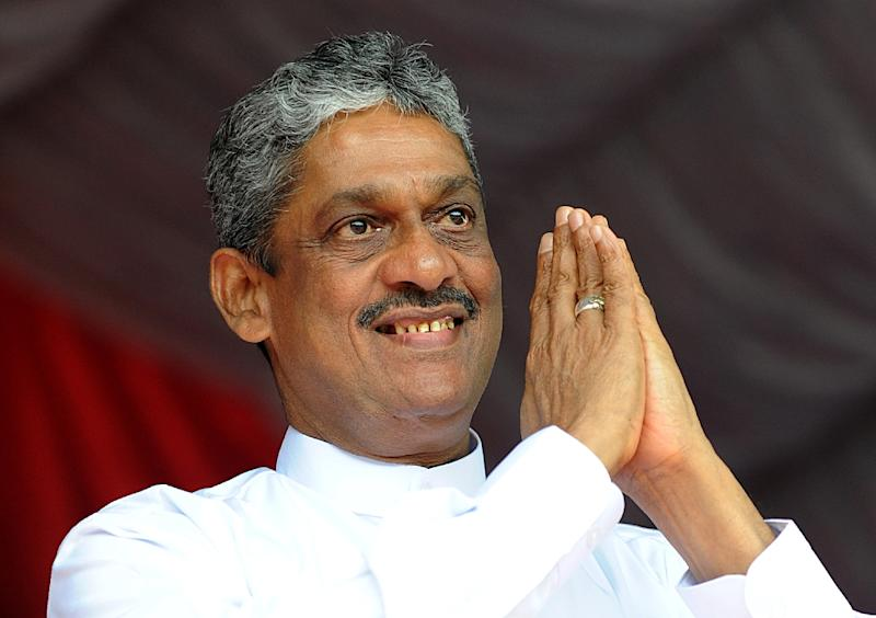 Sri Lanka's former army chief Sarath Fonseka was thrown in jail after he unsuccessfully tried to challenge a re-election bid by president Mahinda Rajapakse in 2010