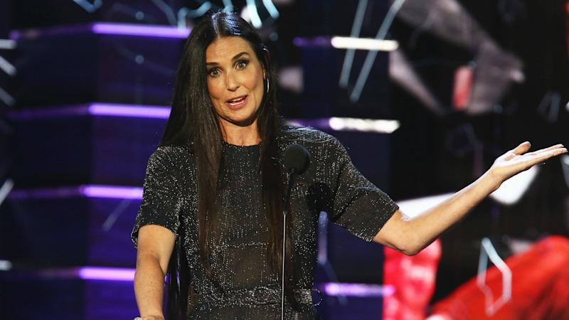 Demi Moore Makes Surprise Appearance at Bruce Willis' Roast, Jokes About Their Divorce