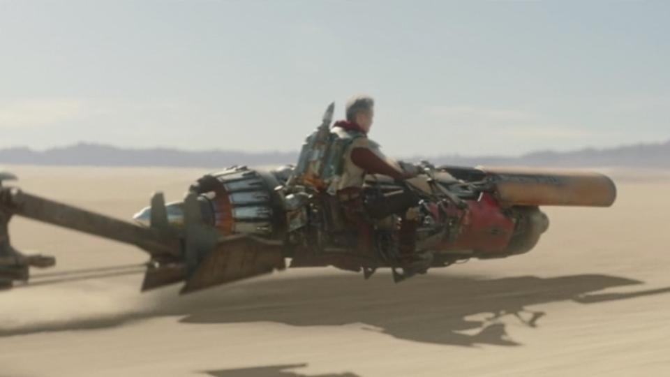 The Mandalorian Anakin Skywalker podracer