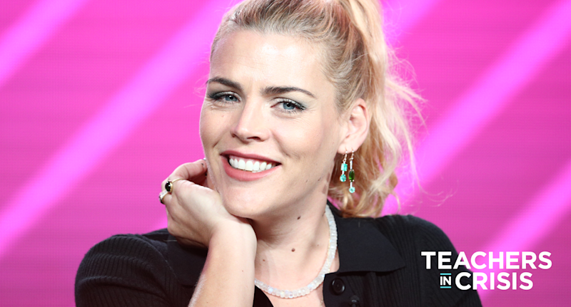 Busy Philipps is using her platform to help crowdfund school supplies. (Photo: Getty Images)