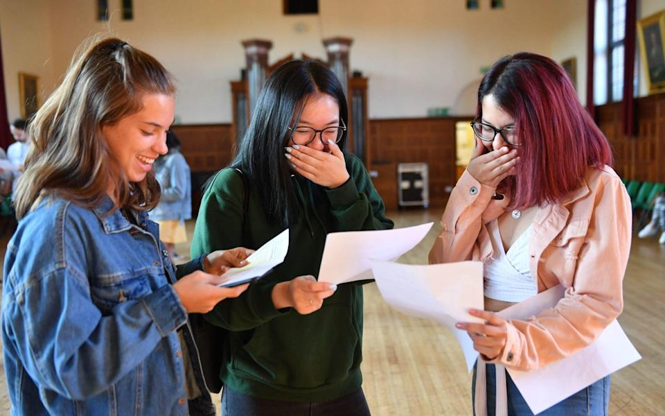 A-level results day tips advice students starting university 2021 covid - PA/Jacob King