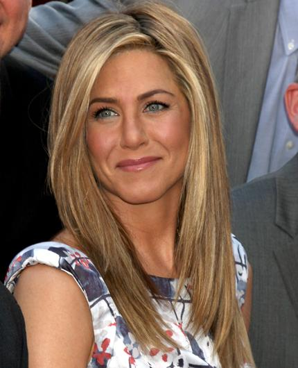 Celebrity hair: Jennifer Aniston may be famed for the iconic 90s 'Rachel cut' but staying top of the tress game post 'Friends' requires a hefty amount.  While touring Europe recently she forked out almost £40,000 for the services of Chris McMillan during a week-long trip.