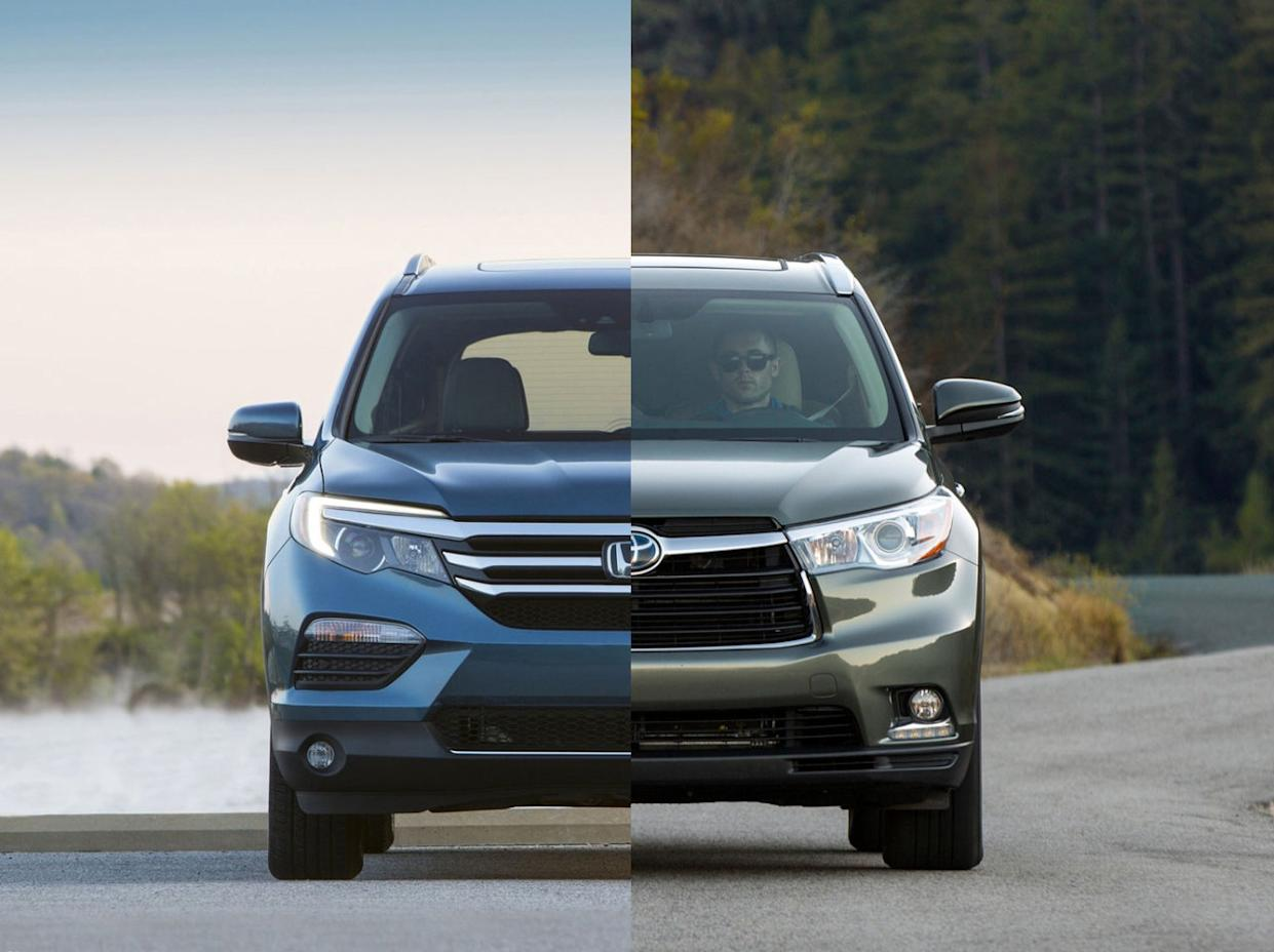 Toyota Highlander Vs Honda Pilot >> 2016 Toyota Highlander Vs Honda Pilot Review