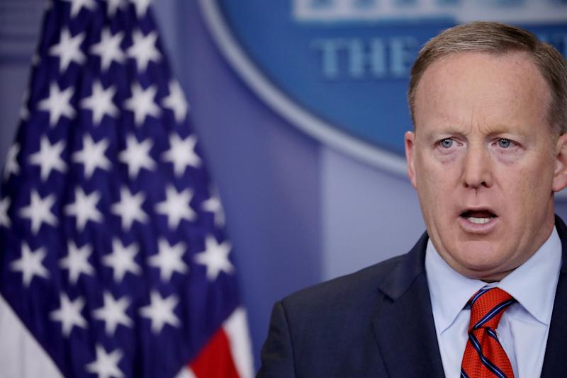 The Reaction to Sean Spicer's Latest Screw Up in Two GIFs