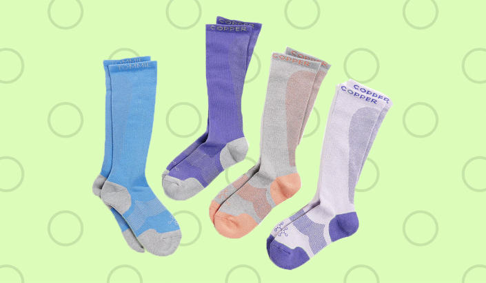 Save big on these must-have socks. (Photo: QVC)