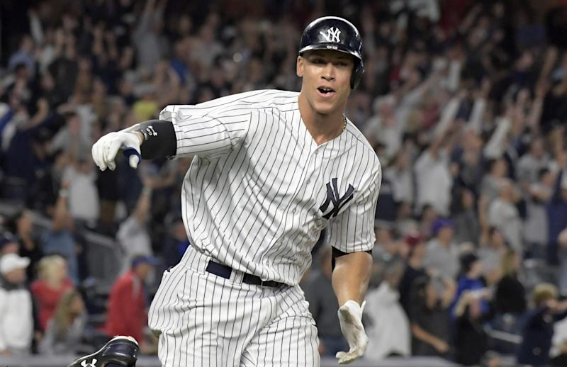 The PECOTA Projections have the Yankees hitting a lot of home runs. Big surprise there. (AP)