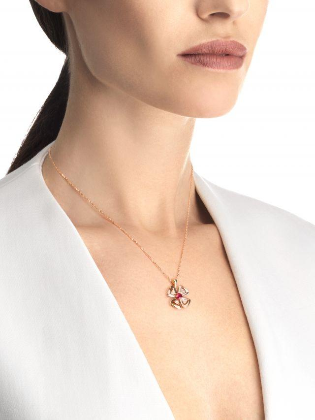 Bvlgari has added a new model to its Fiorever collection for the Chinese New Year