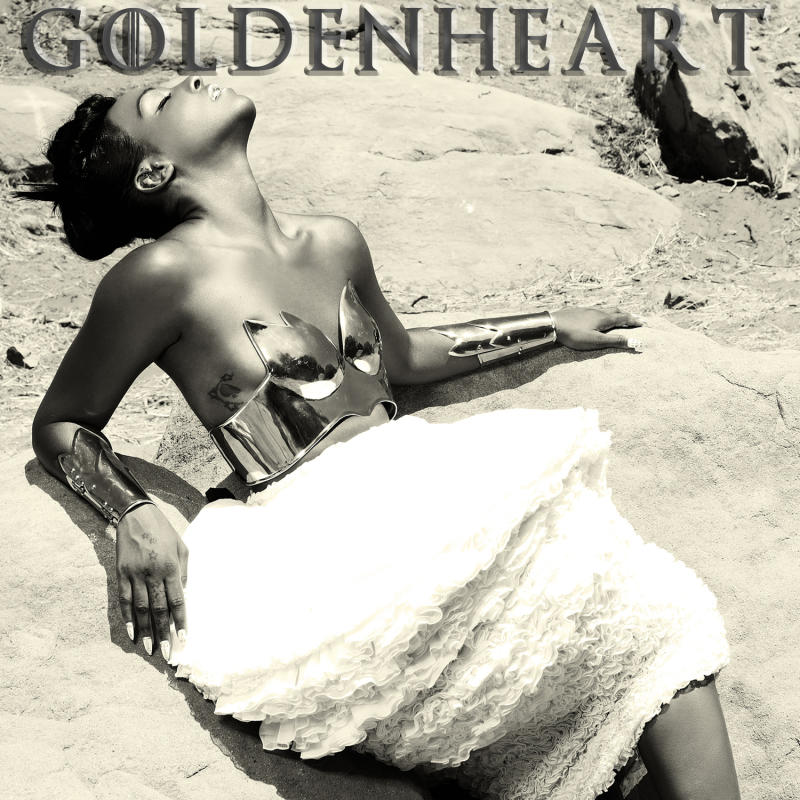 """FILE - This CD cover image released by 101 Distribution shows """"Goldenheart,"""" by Dawn Richard. While Danity Kane's reunion is somewhat exciting, Richard's solo project was electrifying. The singer, who was also part of the Diddy-Dirty Money trio, is in perfect form on """"Goldenheart,"""" where she explores various R&B and pop sounds, including beats that are electronic, smooth and downtempo. (AP Photo/101 Distribution, file)"""