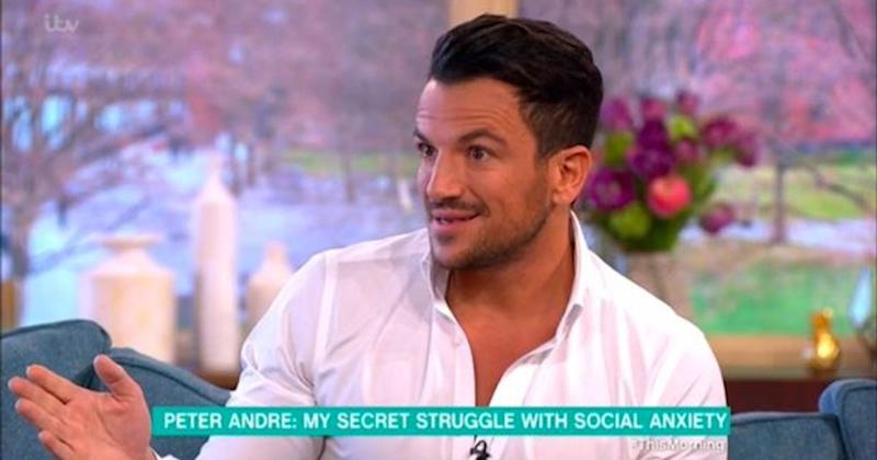 The Aussie star revealed he was able to cure his social anxiety through therapy (Copyright: ITV)