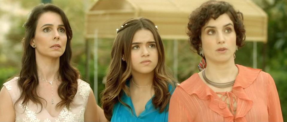 """<p>This Brazilian rom-com follows a teen who doesn't believe in love after her parent's divorce until a pop star shows her what love really is.</p> <p>Watch <a href=""""https://www.netflix.com/title/80245601"""" class=""""link rapid-noclick-resp"""" rel=""""nofollow noopener"""" target=""""_blank"""" data-ylk=""""slk:DJ Cinderella""""><strong>DJ Cinderella</strong></a> on Netflix now.</p>"""