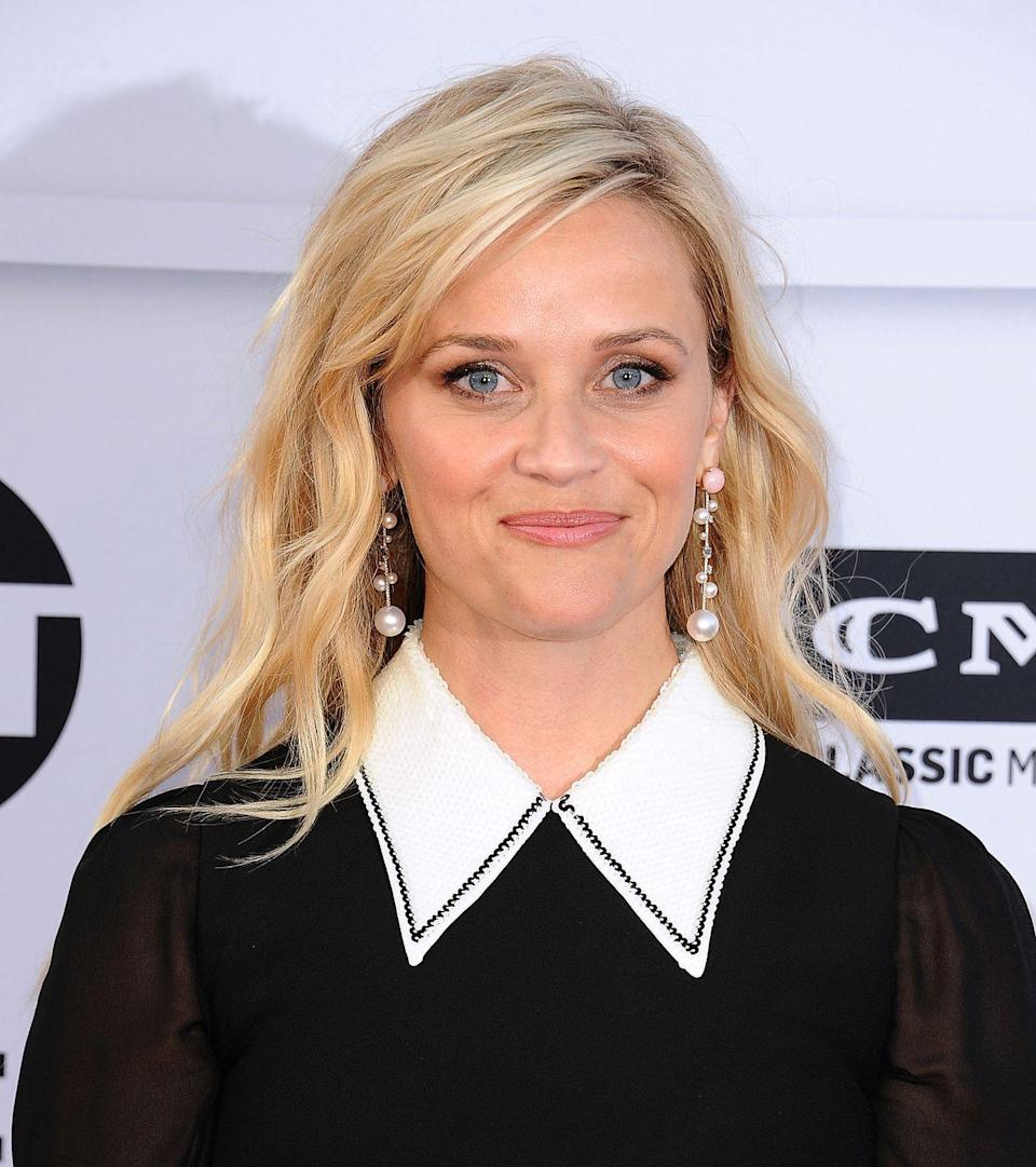 <p><strong>Real name: </strong>Laura Jeanne Reese Witherspoon</p>