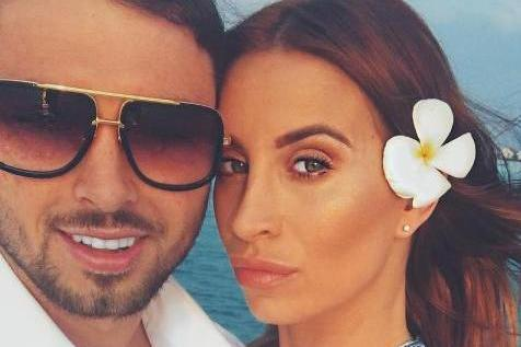 Couple: Ferne McCann and Arthur Collins appeared on the front of OK magazine this week: Instagram