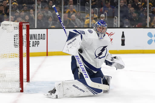 Lightning win 2-1, put Blue Jackets on brink of elimination