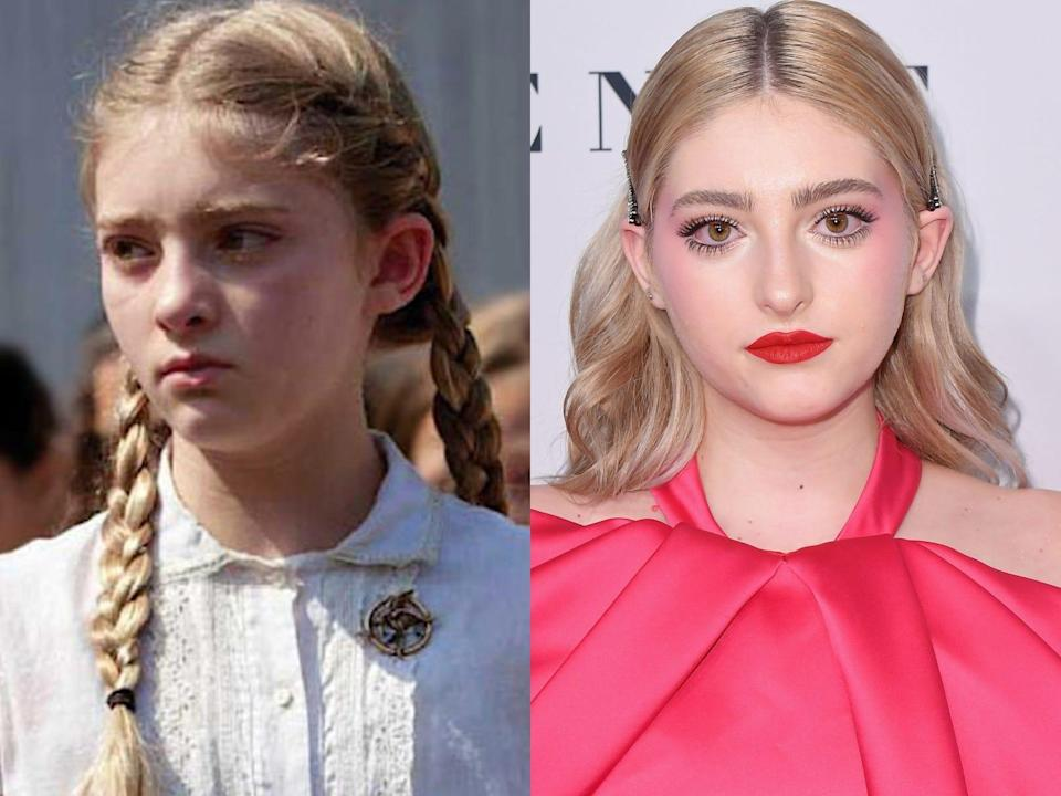 """Willow Shields from """"The Hunger Games"""""""