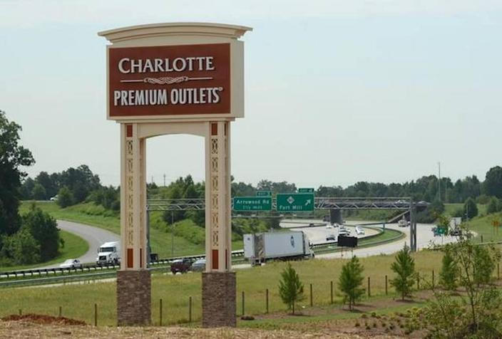 Charlotte Premium Outlets detailed new stores opening.