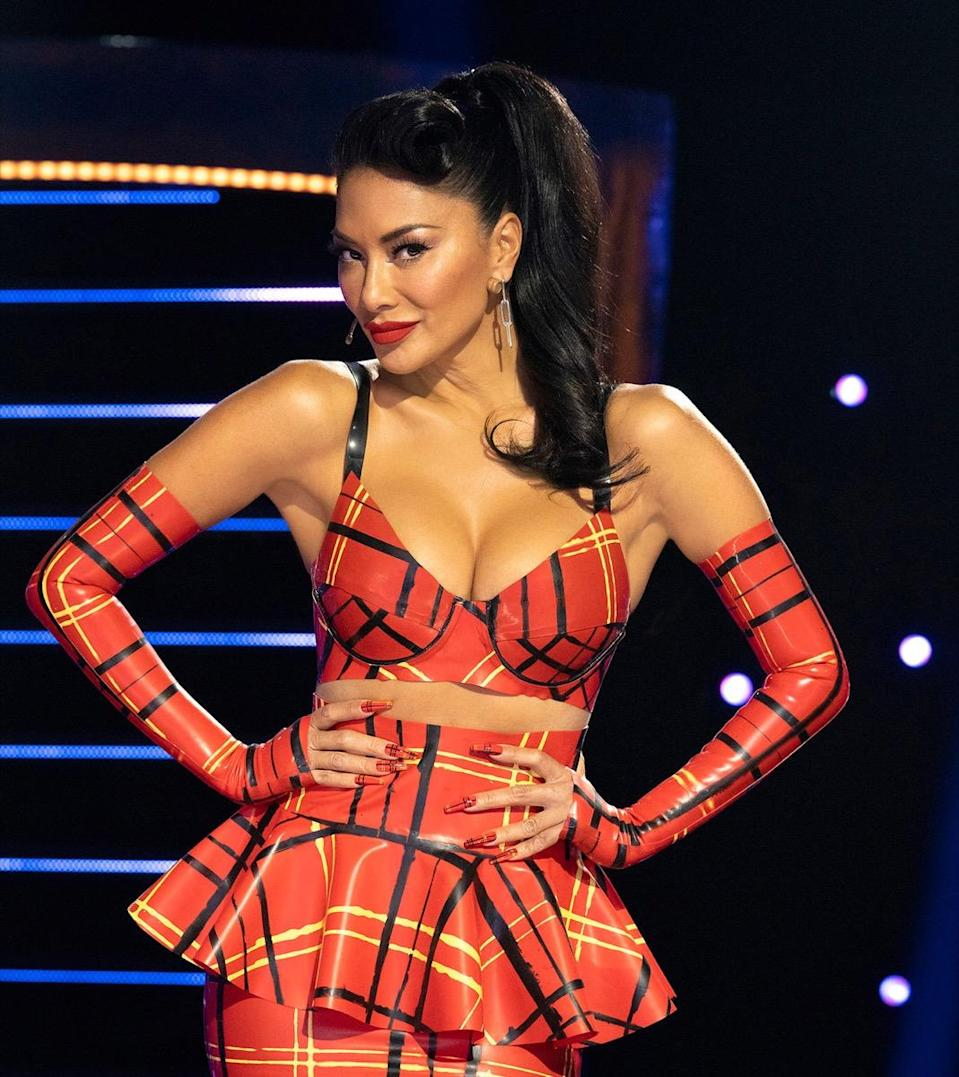 THE MASKED SINGER: Panelist Nicole Scherzinger. The Season Five premiere of THE MASKED SINGER airs Wednesday, March 10 (8:00-9:00PM ET/PT). (Photo by FOX via Getty Images)