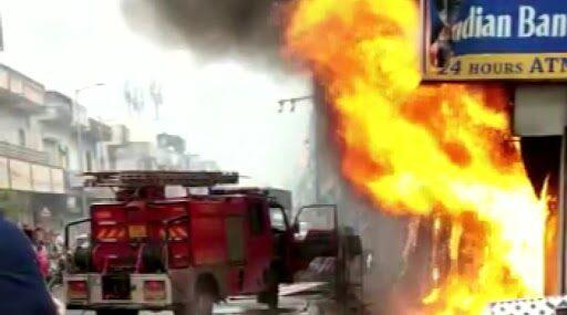 Gujarat: Fire Breaks Out at ATM in Ahmedabad's CTM Area, Thick Smoke Seen
