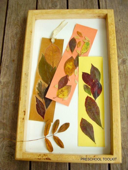 "<p>These DIY bookmarks do double duty: Not only are they a simple way to feature some recently-found leaves, they'll encourage kids to read, too.</p><p><em><a href=""https://mommyevolution.com/fall-leaves-bookmark-craft-for-kids/"" rel=""nofollow noopener"" target=""_blank"" data-ylk=""slk:Get the tutorial at Mommy Evolution »"" class=""link rapid-noclick-resp"">Get the tutorial at Mommy Evolution »</a></em></p>"