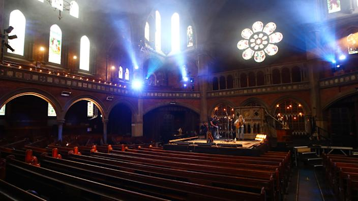 Laura Marling recently streamed a pay-per-view show from the empty Union Chapel in London