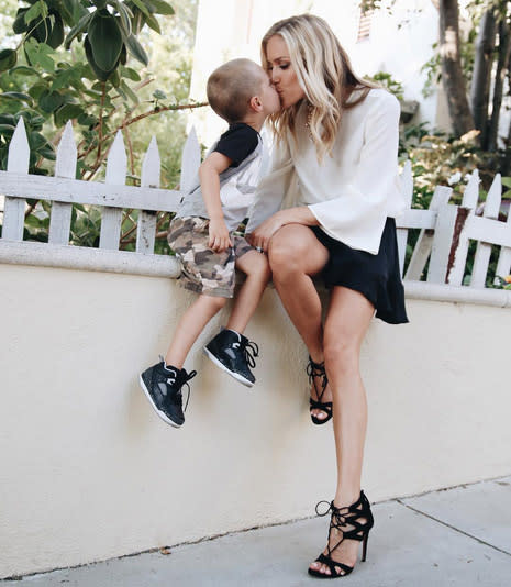 "<p><em>The Hills</em> alum <a href=""https://www.yahoo.com/celebrity/tagged/kristin-cavallari/"" data-ylk=""slk:Kristin Cavallari"" class=""link rapid-noclick-resp"">Kristin Cavallari</a> has three cuties at home to kiss (four if you include hubby Jay Cutler), but Camden Cutler was the object of her affection in this photo posted in honor of his 4th birthday. We kind of can't disagree with the proud mama's caption that her ""little Cammers"" is the ""sweetest soul."" (Photo: <a href=""https://www.instagram.com/p/BI2PF7mgm9k/?taken-by=kristincavallari&hl=en"" rel=""nofollow noopener"" target=""_blank"" data-ylk=""slk:Kristin Cavallari via Instagram"" class=""link rapid-noclick-resp"">Kristin Cavallari via Instagram</a>) </p>"