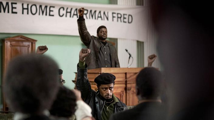 Lakeith Stanfield and Daniel Kaluuya in 'Judas and the Black Messiah,' one of the big premieres as this year's Sundance Film Festival (Photo by Glen Wilson/Courtesy Sundance Institute)