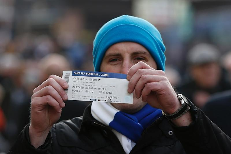 A tax on football tickets could help the UN fund its aid operations (AFP Photo/Adrian Dennis)