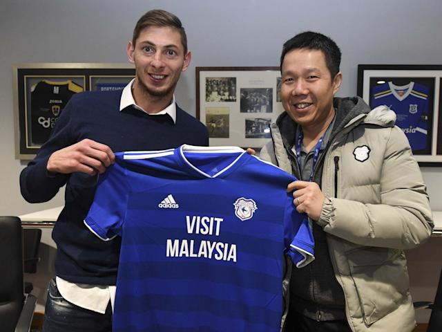 Emiliano Sala: The Cardiff striker signed on a club-record deal last weekend