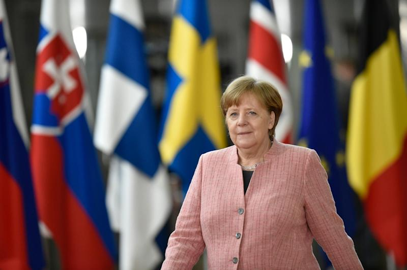 Angela Merkel has faced a domestic political showdown over migration in recent weeks: AFP/Getty