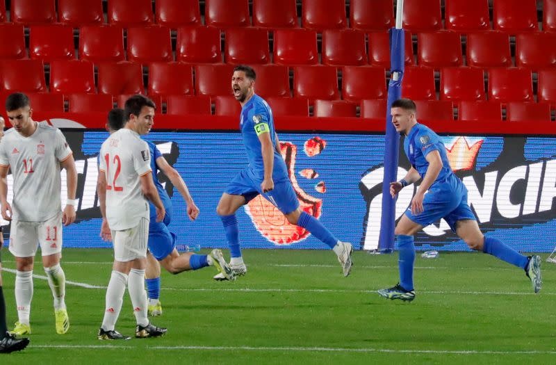 World Cup Qualifiers Europe - Group B - Spain v Greece