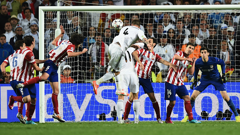Sergio Ramos Real Madrid Atletico Champions League 2014