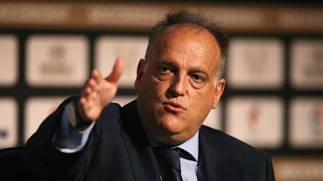 Following a public call for his dismissal, LaLiga president Javier Tebas has taken a swipe at the Royal Spanish Football Federation.