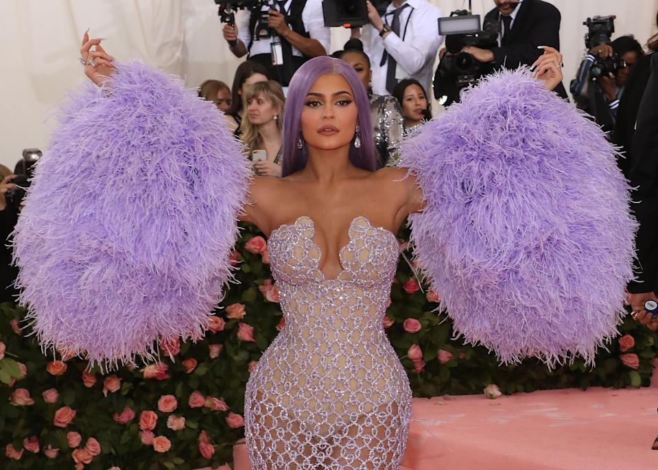 """NEW YORK, NY - MAY 06:  Kylie Jenner attends the 2019 Met Gala celebrating """"Camp: Notes on Fashion"""" at The Metropolitan Museum of Art on May 6, 2019 in New York City.  (Photo by Taylor Hill/FilmMagic)"""