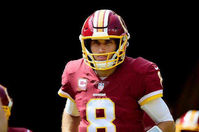 Kirk Cousins can hit free agency again after three seasons with the Vikings. (Getty Images)