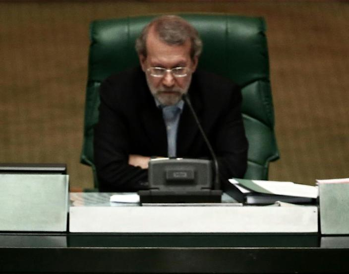 """Ali Larijani says new US visa regulations amount to """"harassment"""" and reciprocal steps will be taken if the plans are implemented (AFP Photo/)"""
