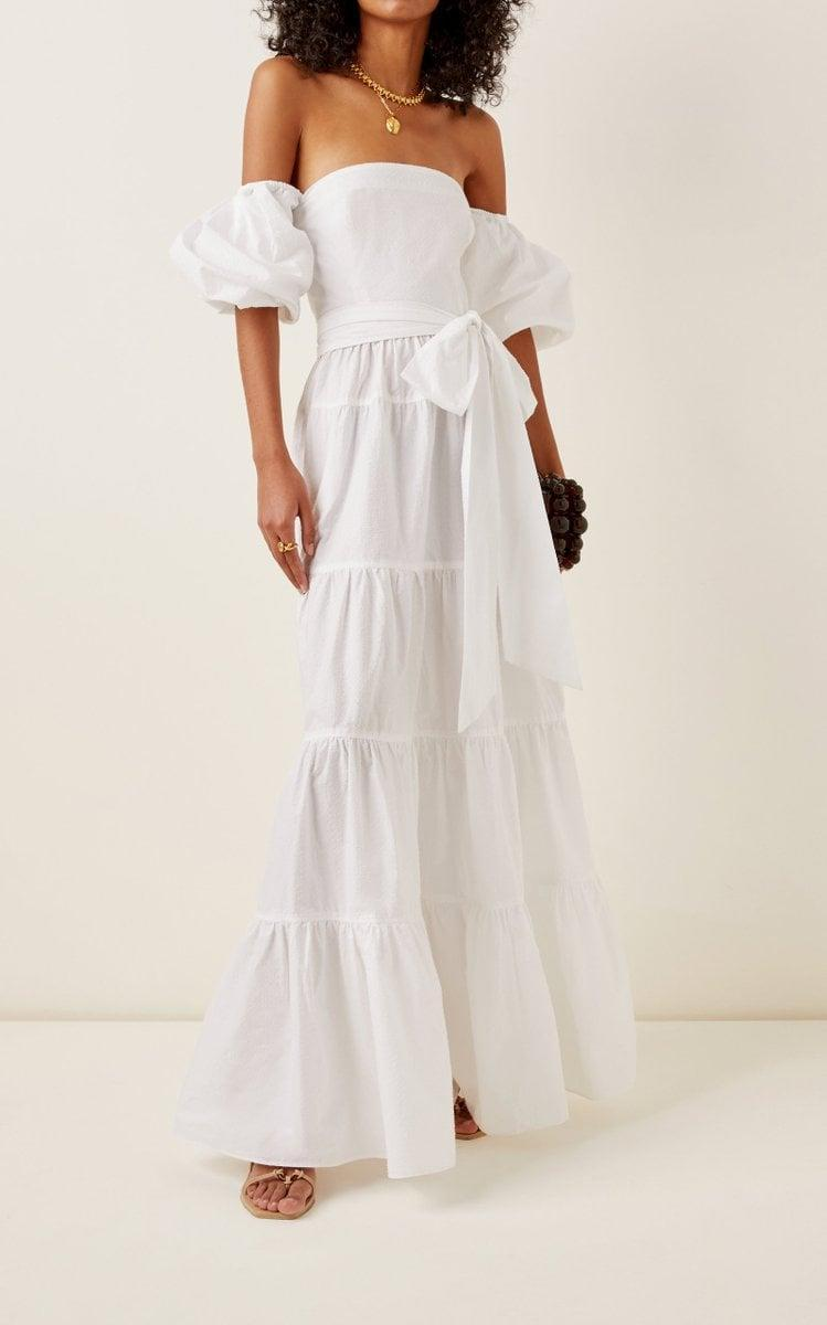 <p>We want to be wearing this gorgeous <span>Cara Cara Wethersfield Floral Poplin Maxi Dress</span> ($895) all the time.</p>