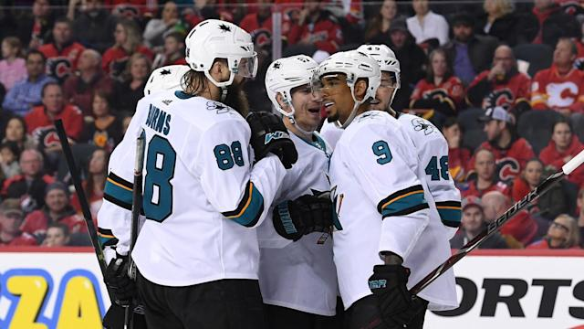 The Sharks are in position to set up a preferable playoff path, in part because of the Pacific Divsion's turbulence at this point of the season.