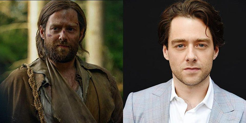 <p>Without his long hair and full beard, Richard Rankin doesn't even look like the same person as his character, Roger Mackenzie Wakefield, on <em>Outlander</em>. </p>