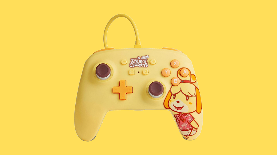 Pre-order Animal Crossing: Isabelle PowerA Enhanced Wired Controller for Nintendo Switch. (Photo: Amazon)