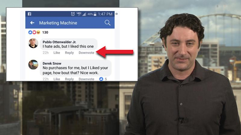 Still want a Facebook 'dislike' button? Big blue tests 'downvote' option