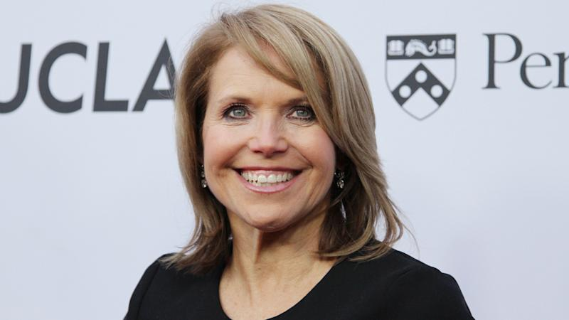 Katie Couric Clarifies Dicey Late Night Joke About Matt Lauer