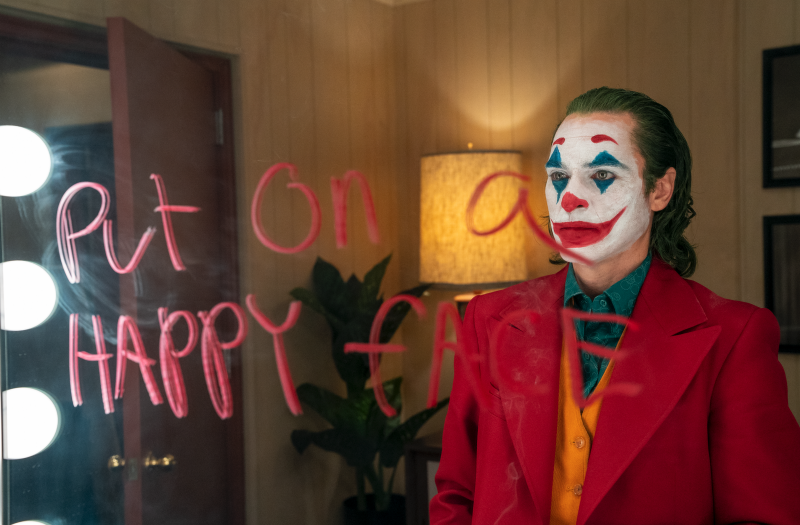 Für seine Rolle als Joker wurde Joaquin Phoenix mit dem Oscar prämiert. (Bild: © 2019 Warner Bros. Entertainment Inc. All Rights Reserved. TM & © DC Comics)